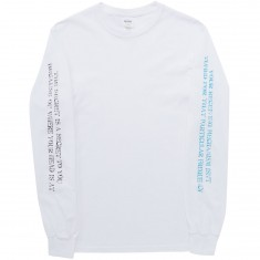 The Killing Floor Receiving Mechanism Long Sleeve T-Shirt - White