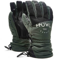Howl Team Glove Snowboard Gloves - Green