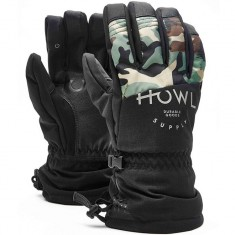 Howl Team Glove Snowboard Gloves - Black