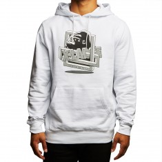 XLarge Riddle Pullover Hoodie - White