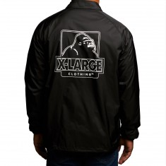 XLarge Border Coach Jacket - Black