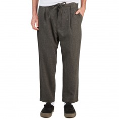 Lira Kennedy Pleated Chino Pants - Grey