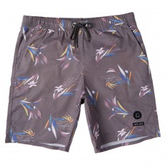 Lira Swelter Boardshorts - Black