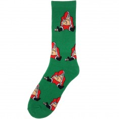 40s And Shorties Dunk Santa Socks - Green