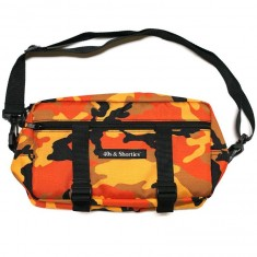 40s And Shorties Orange Camo Side Pouch - Orange Camo