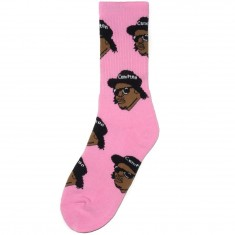 40s And Shorties Ruthless Socks - Pink