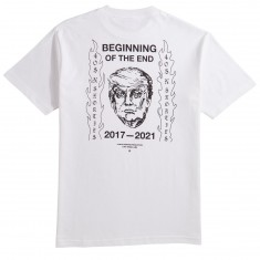 40s And Shorties The End T-Shirt - White
