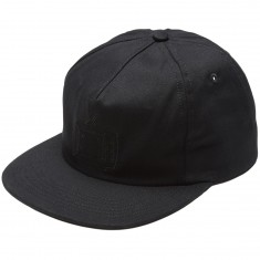 WKND TV Logo 5 Panel Snapback Hat - Black