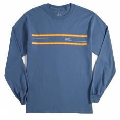 WKND Stripes Long Sleeve T-Shirt - Indigo