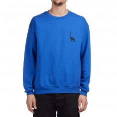 WKND Long Neck Crewneck Sweatshirt - Royal