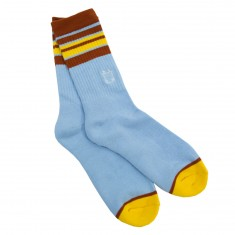 WKND Stripe Socks - Light Blue