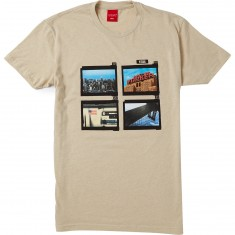 Visual Contact Sheet Series 003 T-Shirt - Creme