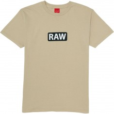 Visual Raw T-Shirt - Grey