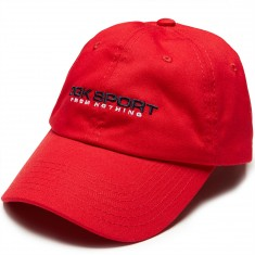 DGK Sport Strapback Hat - Red