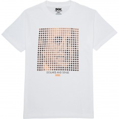 DGK Dollars and Cents T-Shirt - White