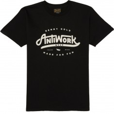 Benny Gold Anti Work Wear T-Shirt - Black