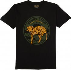 Benny Gold Leopard T-Shirt - Black