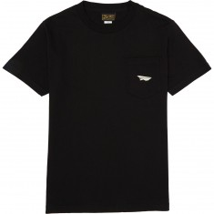 Benny Gold Classic Paper Plane Pocket T-Shirt - Black