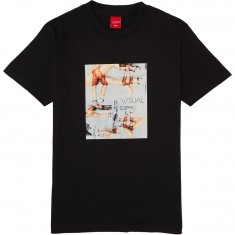 VISUAL Configuration T-Shirt - Black