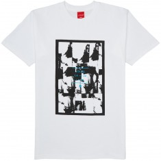 VISUAL Clipped T-Shirt - White
