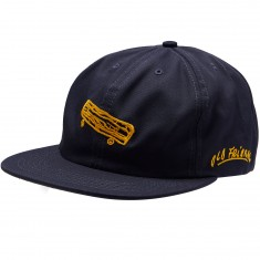 Old Friends Solo Board 6 Panel Hat - Navy