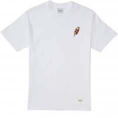 40s And Shorties 40 Bottle Popsicle T-Shirt - White