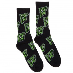 40s And Shorties Bank Roll Socks - Black