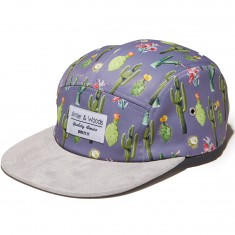 Antler And Woods Desert 5-Panel Hat - Grey