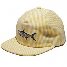 Antler And Woods Tarpon Hat - Yellow Stripe