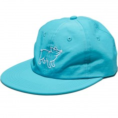 Antler And Woods Hog Hat - Teal Polo