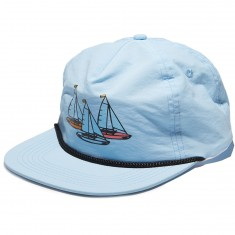 Antler And Woods Regatta Hat - LIght Teal