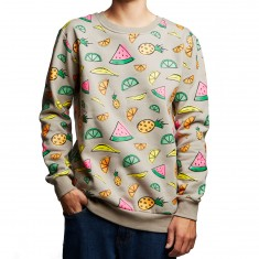 Antler And Woods Market Crew Sweatshirt - Grey