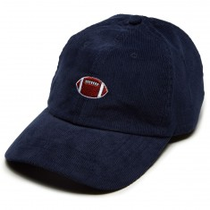 Antler And Woods Football Hat - Navy Blue