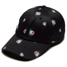 Antler And Woods Rose Hat - Black