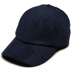 Antler And Woods Solid Suede Hat - Blue