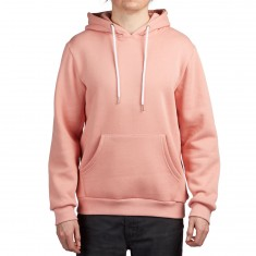 Antler And Woods Up Stream Hoodie - Salmon Pink