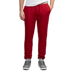Antler And Woods Hawethorne Two Tone Jogger Pants - Maroon/Grey