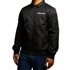The Hundreds Tanner Bomber Jacket - Black
