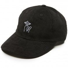 Quiet Life Shhh Polo Hat - Black