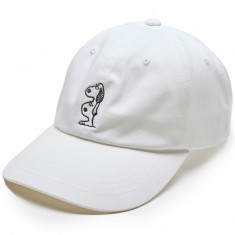 Quiet Life Double Dog Dad Hat - White