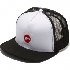 Hopps Hopps Label Trucker Hat - White/Black