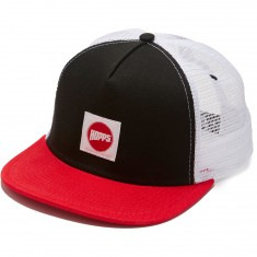 Hopps Hopps Label Trucker Hat - Black/Red