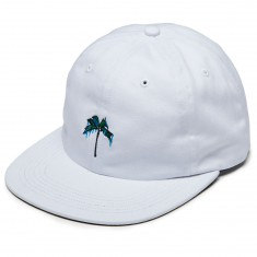 Raised By Wolves Palm Polo Hat - White Chino Twill