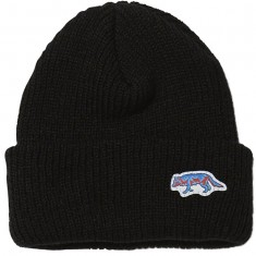 Raised By Wolves Geowulf Watch Beanie - Black Acrylic