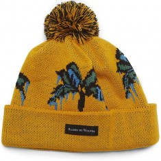 Raised By Wolves Palm Tuque Beanie - Gold Acrylic