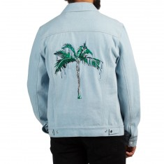 Raised By Wolves Palm Trucker Jacket - Garment Washed Denim