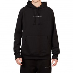 Raised By Wolves 3M Stripe Hoodie - Black French Terry