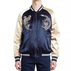 Standard Issue Phoenix Dragon Jacket - Dark Navy/Gold