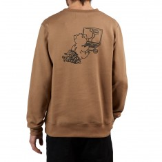 Pas De Mer The Internet Sweatshirt - Beige