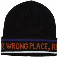 Pas De Mer Wrong Place Beanie - Black